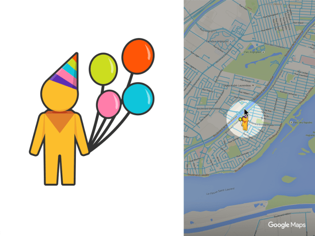 Google maps birthday pegman