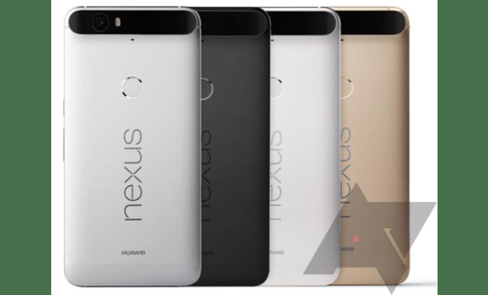 Nexus 6P family press render