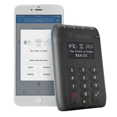 PayPal Tap n Go Mobile Payments Card Reader