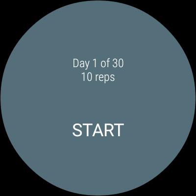 Day 1 - 30 - Start