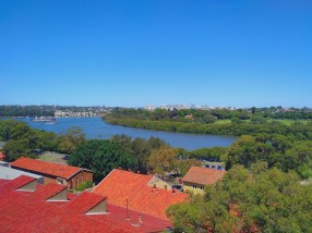 Looking out over the Parramatta River