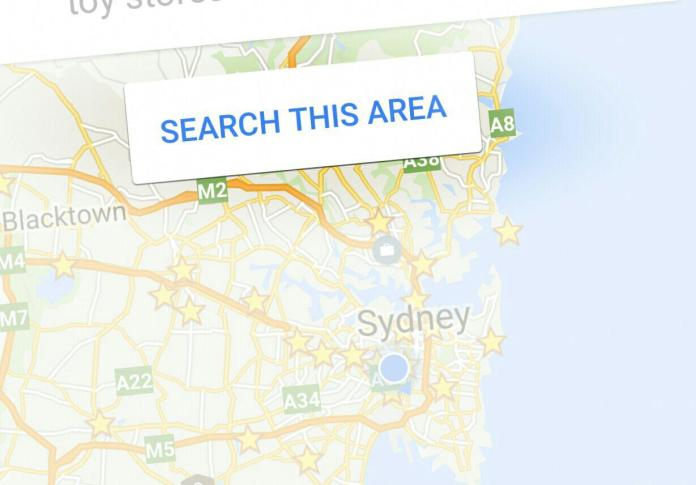 Google Maps Search This Area