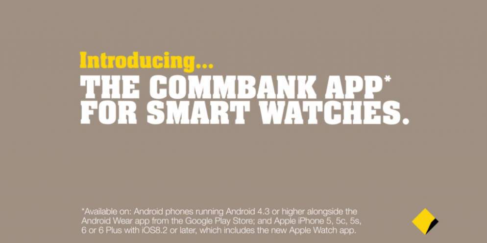Commonwealth bank bringing banking to your wrist with new