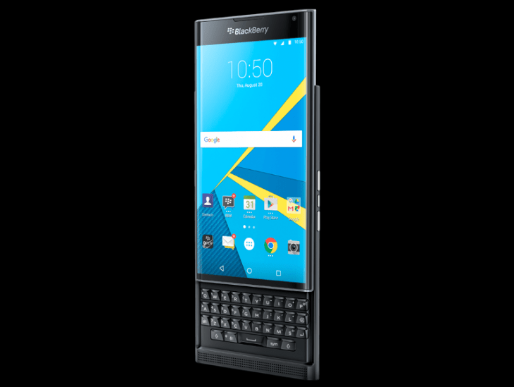 Blackberry Priv smartphone won't get any new Android updates