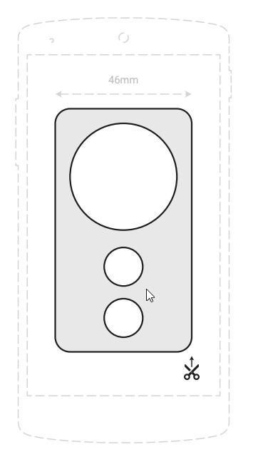 daydream controller cutout