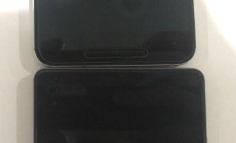 Nexus 6P vs Mate 8 (below)