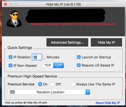 Mac Software real IP