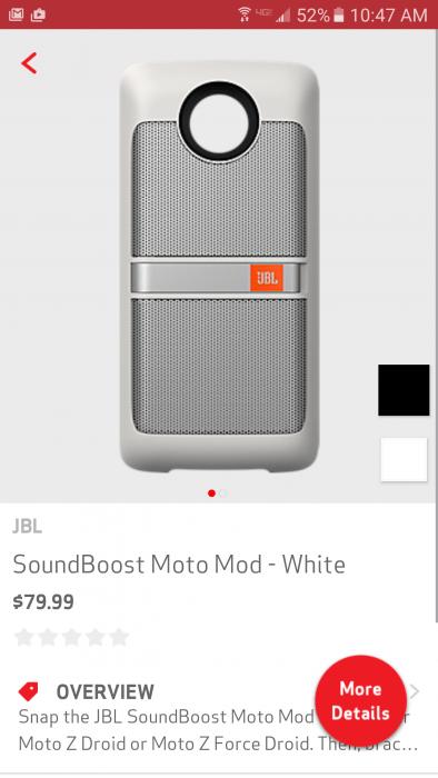 Moto Mod - Soundboost