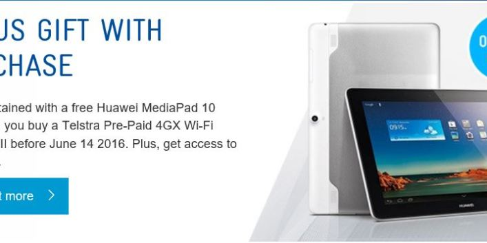 Good Deal: Buy the Telstra Pre-Paid 4GX Wi-Fi Advanced II online and