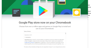 Google updates the status of Chromebooks getting Android Apps to show progress