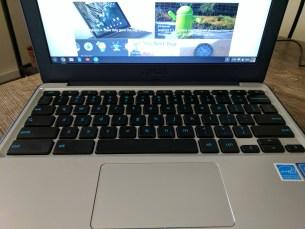 C202 Keyboard & Trackpad again