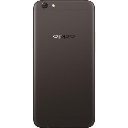 Oppo R9s Black rear
