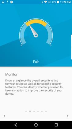 DTEK Security Screenshot 2