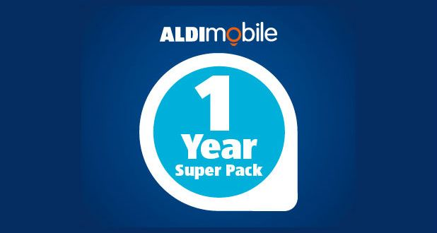 AldiMobile is offering a 1 year 'Super Pack' for $249 with