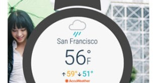AccuWeather launches Android Wear 2.0 app