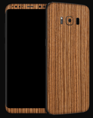 Galaxy S8+ Dbrand - Zebra Wood