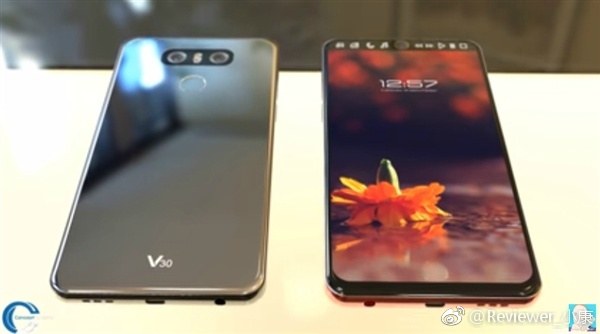 LG V30 leak shows off a Full Vision display and a glossy