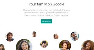 Google introduces Family Sharing, an easy way to share Calenders, Notes, Photos and more with your Family Group
