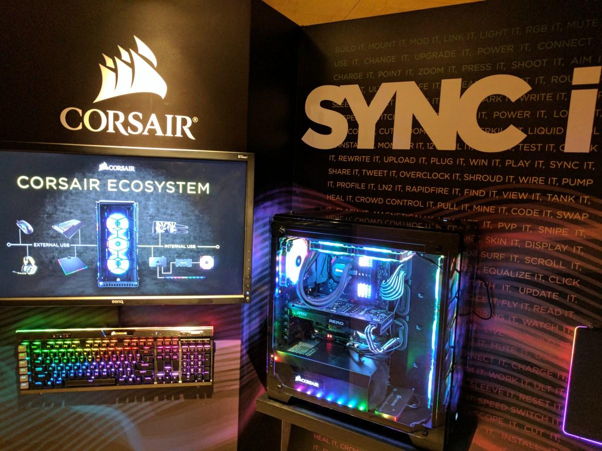 Resultado de imagen para SYNC IT corsair