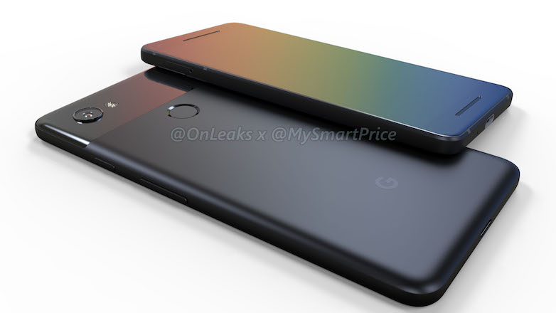New Google Pixel 2 renders show up - no sign of headphone jack