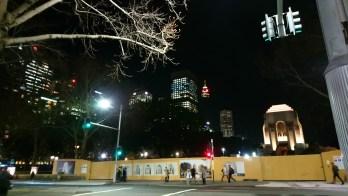 War Memorial Hyde Park Sydney @ Night