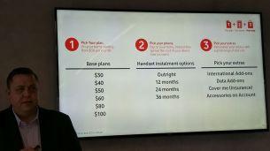 Vodafone Plans - 3 steps