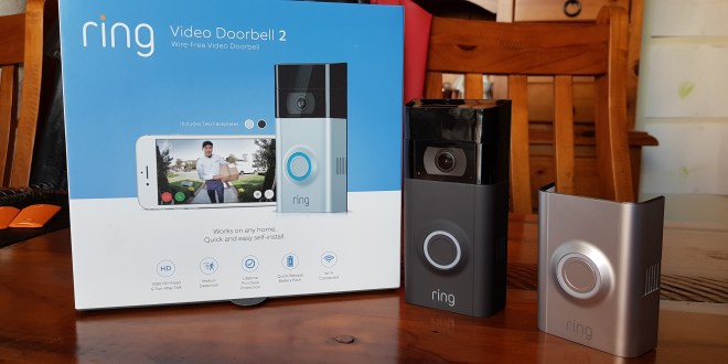 how to install ring video doorbell 2 + chime pro