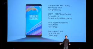 OnePlus 5T announced in New York showing off a new display and camera