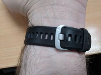 Garmin Vivosport on wrist 2