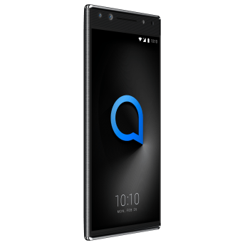 Alcatel 5_Metallic Black_Front Left(with UI) (1)