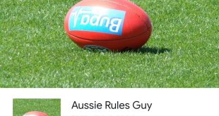Find the latest AFL info with the Aussie Rules Guy Google Assistant App