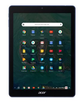 Acer Chromebook Tab 10 - D651N - Front Facing