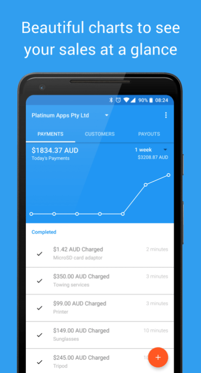 Charge for Stripe from Australian developer Platinum Apps allows you