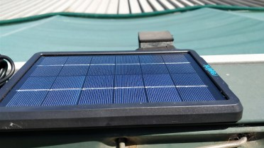 Reolink Solar Panel Mounted