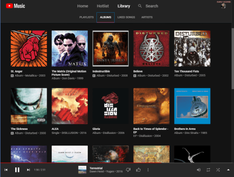 Library - Albums