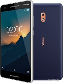 Nokia 2.1 - front & Back view