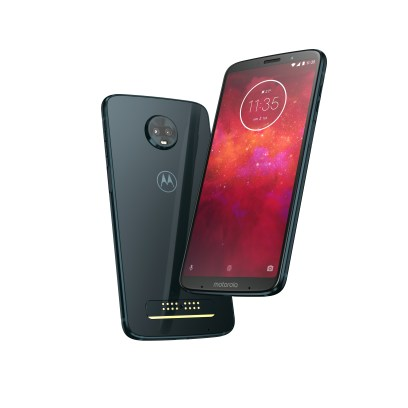 MotoZ3Play - Deep indigo - Packshot