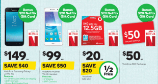 Buy any participating Vodafone Pre-Paid product at Woolies from today and get a bonus Netflix Gift Card