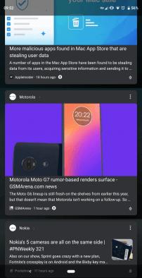 Dark Mode Google Theme 2