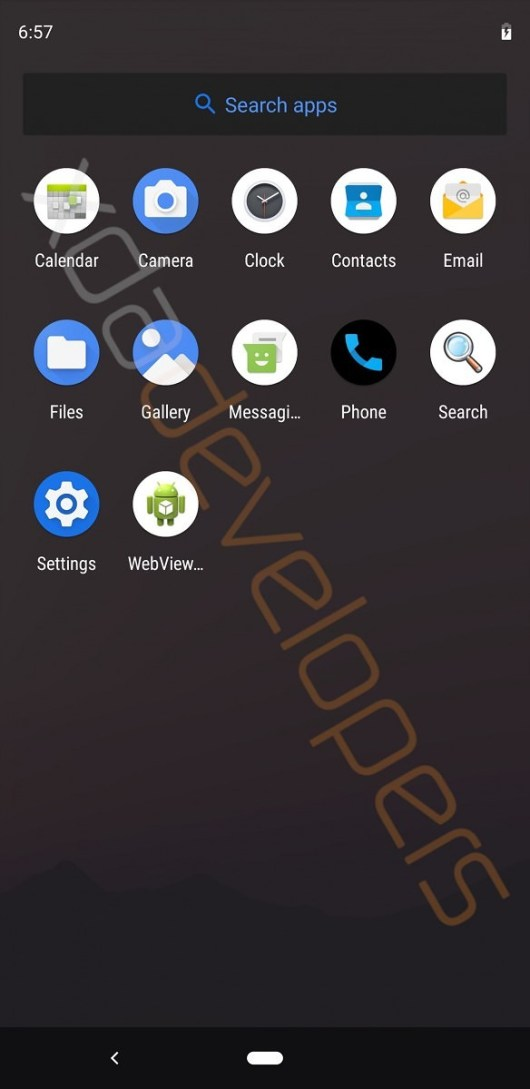 UPDATE: now with video!] Early Android Q build leaks with