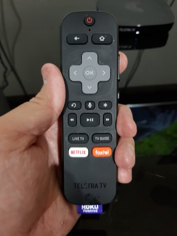 TTV 3 Remote - Front