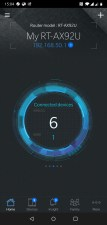 Asus App connected device numbers
