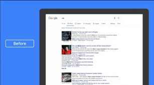 Google search news redesign