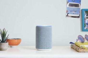 All-new Amazon Echo on desk