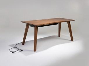 Mesa 57 Espresso Angled (Desk)