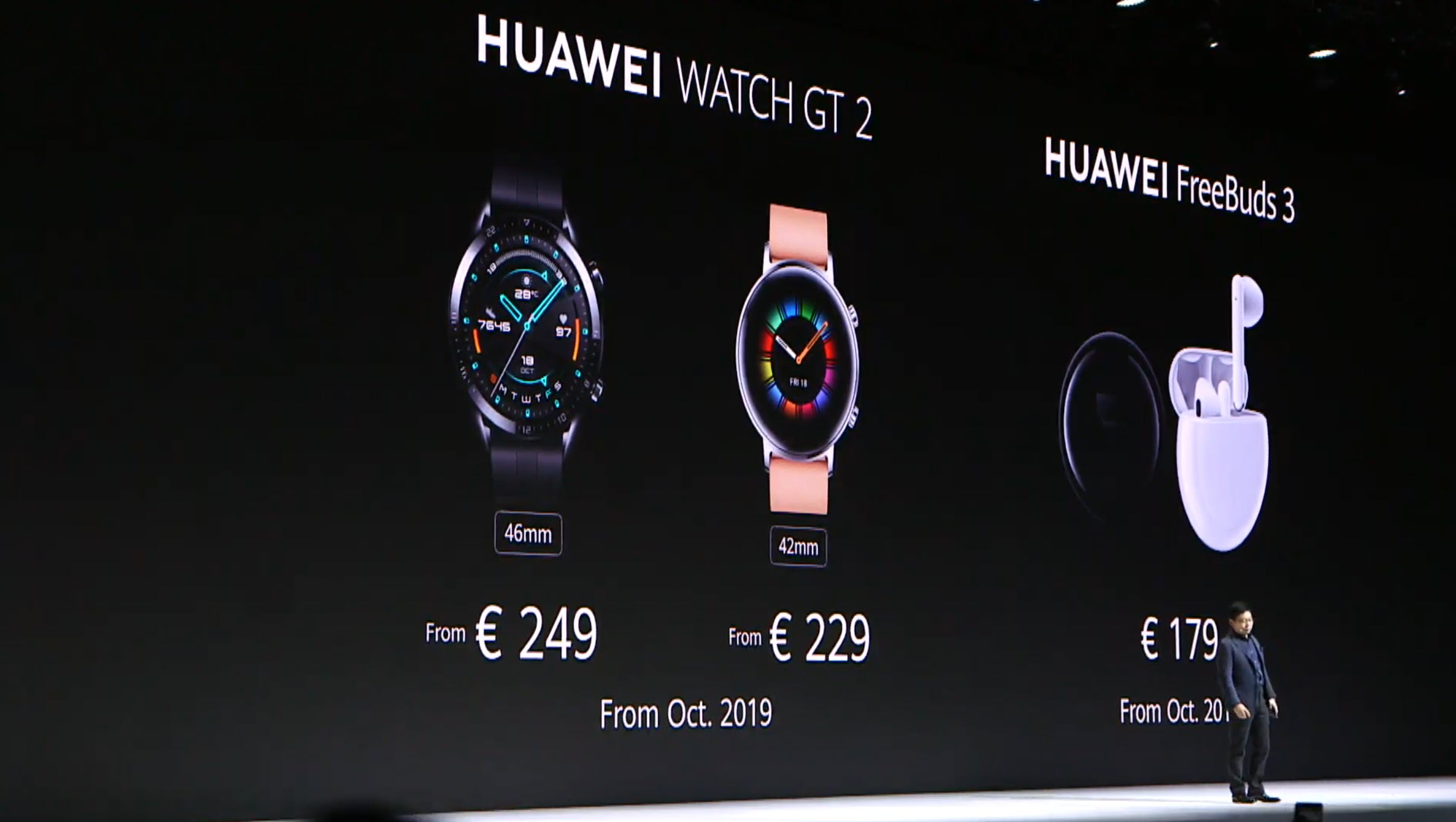 Huawei unveils a stylish new smartwatch with stellar battery life