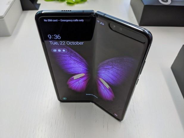 Galaxy Fold Open Butterfly