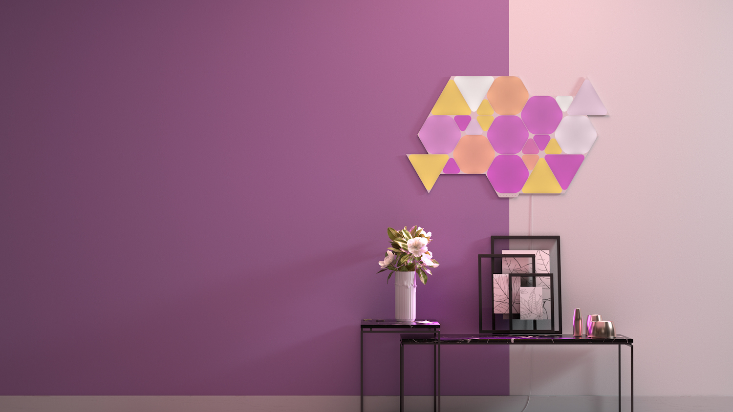 Nanoleaf Launches New HomeKit-Enabled Shapes Triangle and Mini Triangle Lighting Panels