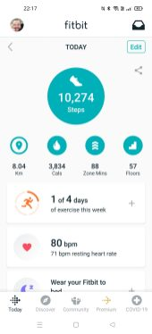 Fitbit Step Count 2