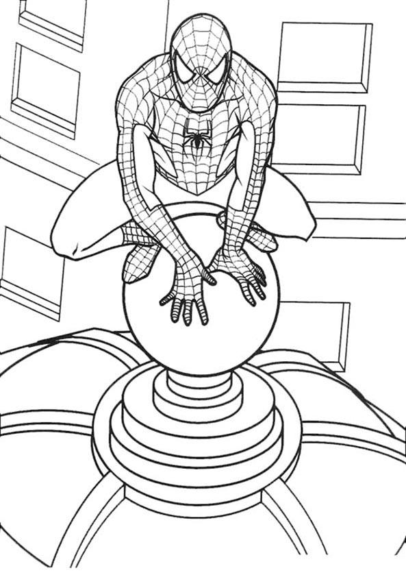 Bilder Zum Ausmalen Spiderman 1 Bilder Zum Ausmalen